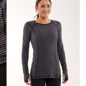 Lululemon Run Turn Around Long Sleeve Top Shirt 4